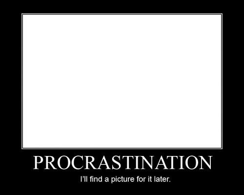 procrastination at work