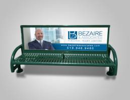 mainstream marketing portfolio bezaire associates bench ad