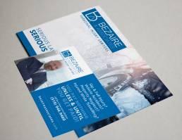 mainstream marketing portfolio bezaire associates postcard