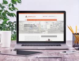 mainstream marketing portfolio absolute industrial website