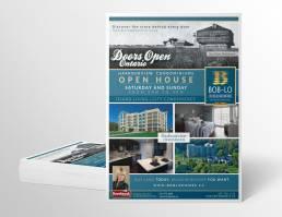 mainstream marketing portfolio boblo doors open ferry flyer