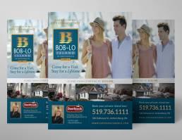 mainstream marketing portfolio boblo flyer splurge ad