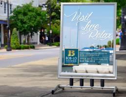 mainstream marketing portfolio boblo restaurant sign2