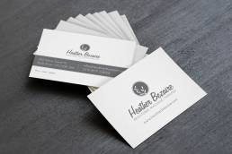 mainstream marketing portfolio heather bezaire business cards