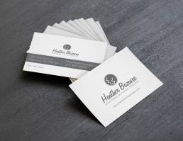 mainstream marketing portfolio heather bezaire business cards