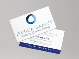 mainstream marketing portfolio jessica swabey business cards