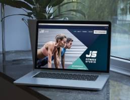 mainstream marketing portfolio js fitness website