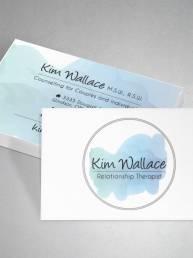 mainstream marketing portfolio kim wallace business cards