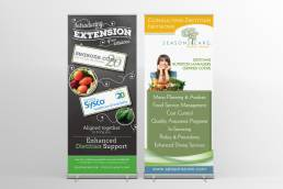 mainstream marketing portfolio seasons care banners