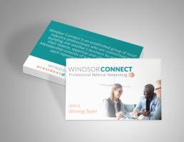mainstream marketing portfolio windsor connect business cards