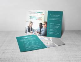 mainstream marketing portfolio windsor connect postcards